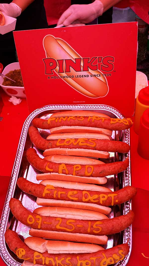 Partners Pink's Hot dogs