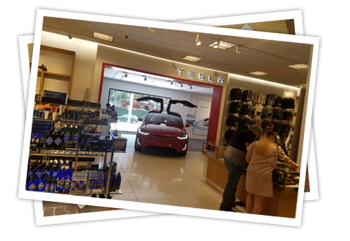 Tesla and Nordstrom's 'in the store' Promotion