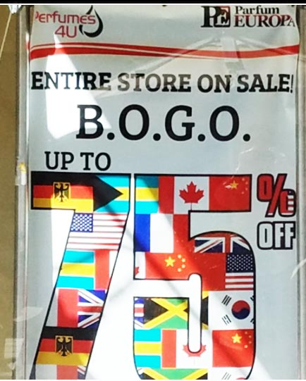 BOGO: Buy one, Get one.