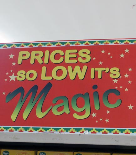 Prices so Low, It's Magic