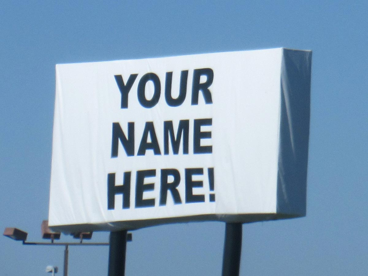 Your name here!